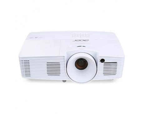 Acer Essential X137WH videoproyector 3700 lúmenes ANSI DLP WXGA (1280x800) Proyector portátil Blanco - Imagen 1
