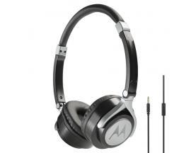 Motorola Pulse 2 auriculares para móvil Binaural Diadema Negro Alámbrico
