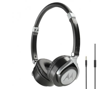 d16611901e4 Motorola Pulse 2 auriculares para móvil Binaural Diadema Negro Alámbrico -  Imagen 1