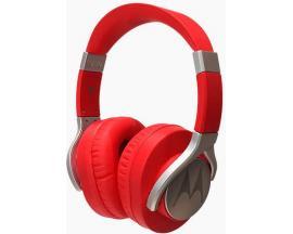Motorola Pulse Max auriculares para móvil Binaural Diadema Rojo Alámbrico