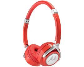 Motorola Pulse 2 auriculares para móvil Binaural Diadema Rojo Alámbrico