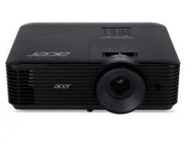 Acer X138WH videoproyector 3700 lúmenes ANSI DLP WUXGA (1920x1200) 3D Proyector para escritorio Negro - Imagen 1