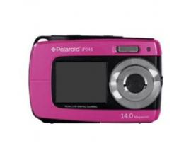 Camara digital polaroid if045 rosa 14mp doble pantalla 2.7/1.8 sumergible 3mts - Imagen 1