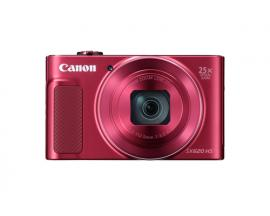 Camara digital canon powershot sx620 hs 20.2mp/ zoom 50x/ zo 25x/ 3''/ full hd/ wifi/ nfc/ roja kit funda y tarjeta 8gb - Imagen