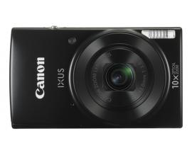 "Camara digital canon ixus 190 hs negra 20mp zoom 20x/ zo 10x/ 2.7"" litio/ videos hd/ modo eco/ fecha/ wifi - Imagen 1"