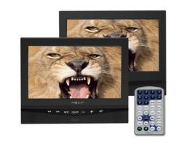 """Dvd portatil nevir 10.1"""" x2 nvr-2778dvd-pdcu negro usb - Imagen 1"""