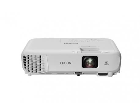 Videoproyector epson eb-w05 3lcd/ 3300 lumens/ wxga/ hdmi/ usb/ wifi opcional/ proyector portatil - Imagen 1