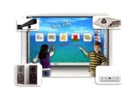 """Kit videoproyector hitachi cp-cx301 + pizarra interactiva fx-79e2 79""""+ soporte tsus2 + accesorios"""