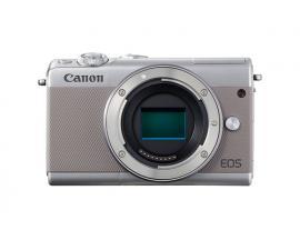 Camara digital reflex canon eos m100 body (solo cuerpo) cmos/ 24.2mp/ digic 7/ full hd/ wifi/ bluetooth/ nfc/ gris - Imagen 1