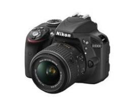 Camara digital reflex nikon d3300 negro 24.2mp afp dx18-55g no vr + estuche + libro + tripode - Imagen 1