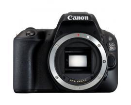 Camara digital reflex canon eos 200d body (solo cuerpo) cmos/ 24.2 mp/ digic 7/ 9 puntos de enfoque/ wifi - Imagen 1