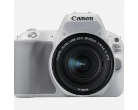 Camara digital reflex canon eos 200d + 18-55stm cmos/ 24.2mp/ digic 7/ 9 puntos de enfoque/ blanco - Imagen 1