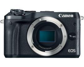 Camara digital reflex canon eos m6 body (solo cuerpo) cmos/ 24.2mp/ digic 7/ full hd/ wifi/ nfc/ bluetooth/ negro - Imagen 1