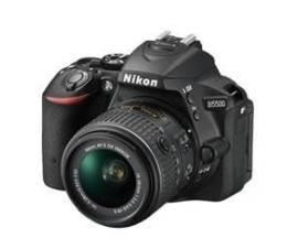 Camara digital reflex nikon d5500 negro 24.2mp + afp dx18-55g vrii + libro+estuche+ palo selfie - Imagen 1