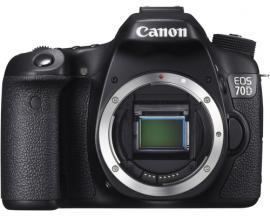 Camara digital reflex canon eos 70d body (solo cuerpo)/ cmos/ 20.2mp/ digic 5/ 19 puntos enfoque/ tactil - Imagen 1