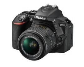 Camara digital reflex nikon d5500 negro 24.2mp + afs dx18-140g vr - Imagen 1