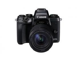 Camara digital reflex canon eos m5 + ef-m 18-150mm is stm/ cmos/ 24.2mp/ digic 7/ full hd/ wifi/ nfc/ bluetooth - Imagen 1