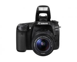 Camara digital reflex canon eos 80d + ef-s 18-135mm is/ cmos/ 25.8mp/ digic 6/ 45 puntos enfoque/ nfc/ wifi - Imagen 1