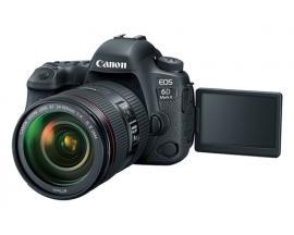 Camara digital reflex canon eos 6d mark ii + 24-105stm/ cmos/ 26.2mp/ digic 7/ 45 puntos de enfoque/ wifi/ bluetooth/ gps/ nfc -
