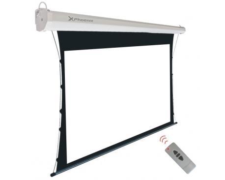 """Pantalla electrica videoproyector pared y techo phoenix tensionada 100"""" ratio 4:3 y 16:9 2m x 1.5m posicion ajustable ultra sile"""