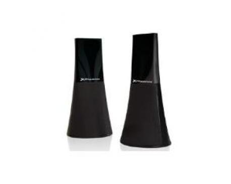 Altavoces phoenix negro 2.0 usb y jack 3.5 mm - Imagen 1