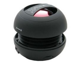 Mini altavoz portatil phoenix miniboom universal jack 3.5mm con bateria negro - Imagen 1