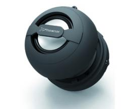Mini altavoz portatil phoenix miniboom universal bluetooth / jack 3.5mm con bateria negro - Imagen 1