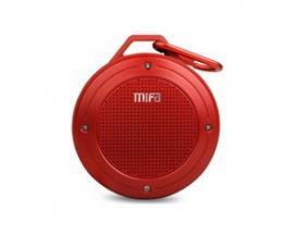 Altavoz m ifa f10 rojo bluetooth /resistente al aguna/3w/mosqueton - Imagen 1
