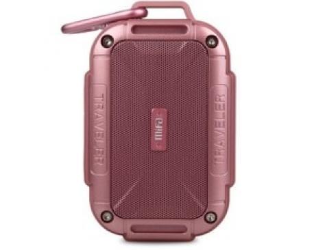 Altavoz mifa f7 rosa bluetooth / resitente al agua ipx6 / manos libres / sonido 360. - Imagen 1