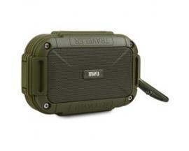 Altavoz mifa f7 verde bluetooth / resitente al agua ipx6 / manos libres / sonido 360.