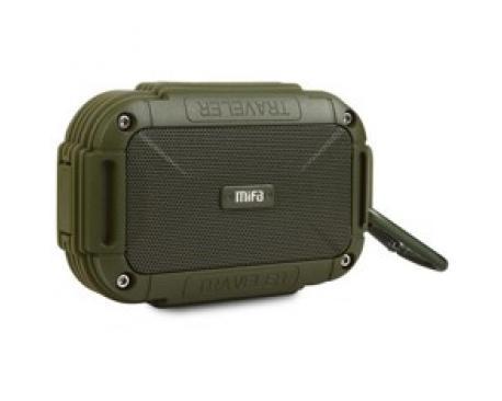 Altavoz mifa f7 verde bluetooth / resitente al agua ipx6 / manos libres / sonido 360. - Imagen 1