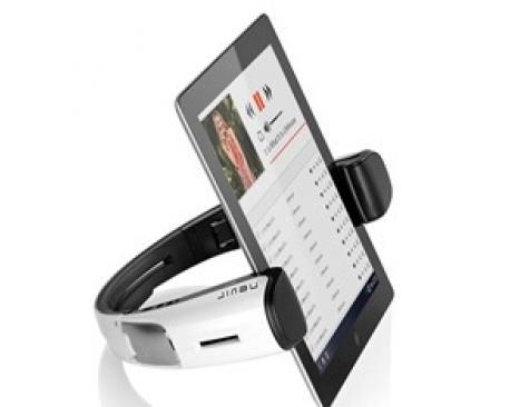 Altavoces bluetooth con soporte para tablets nevir nvr-826 blancos - Imagen 1