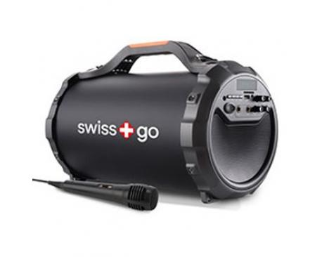 Altavoz bluetooth portatil swiss go ara p-30 usb/ 28w/ microfono - Imagen 1