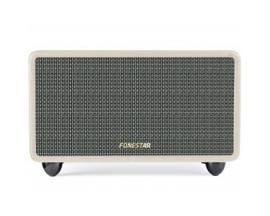 Altavoz fonestar bluetooth 2x20w/ crema