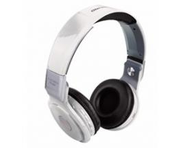 Auriculares reproductor mp3 woo ps400b/ bluetooth/ microfono/ fm / micro sd / llamadas remotas/ blanco - Imagen 1
