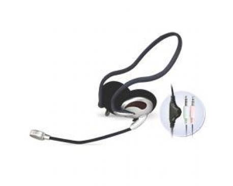Auriculares con microfono phoenix stereo diadema sport - Imagen 1