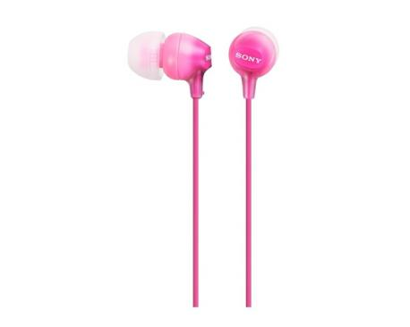 Auriculares boton sony mdrex15lppi rosa - Imagen 1