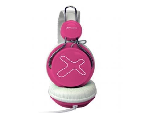 Auriculares con microfono phoenix 720 air rosa - Imagen 1
