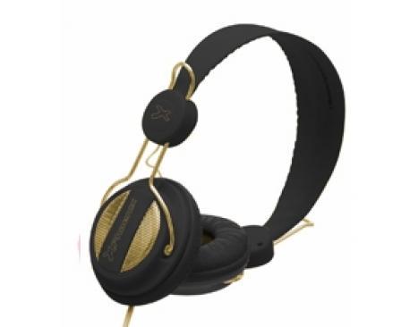 Auriculares con microfono phoenix 1080 air negro - Imagen 1