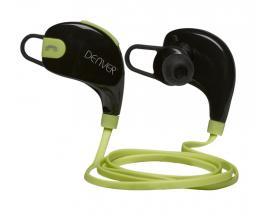 Auricular inalambrico denver bte-100 verde / bluetooth