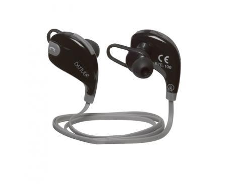 Auricular inalambrico denver bte-100 gris / bluetooth - Imagen 1