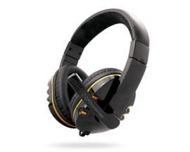 Auriculares con microfono phoenix hydra gaming jack negro y amarillo