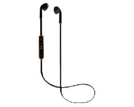 Auriculares bluetooth de boton nevir negro - Imagen 1