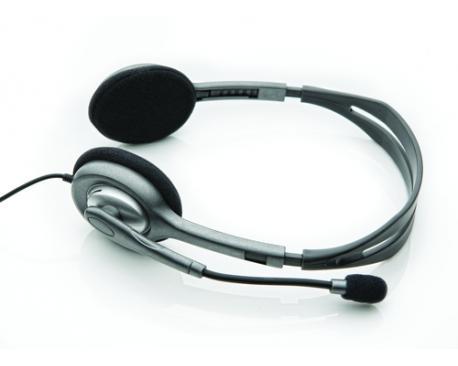 Auriculares con microfono logitech headset h110 - Imagen 1