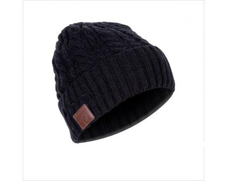 Gorro de invierno con auriculares incorporados phoenix phbeaniebtw estereo conexion bluetooth / manos libres / color negro / dep