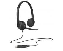 Auriculares con microfono logitech headset h340 usb - Imagen 1