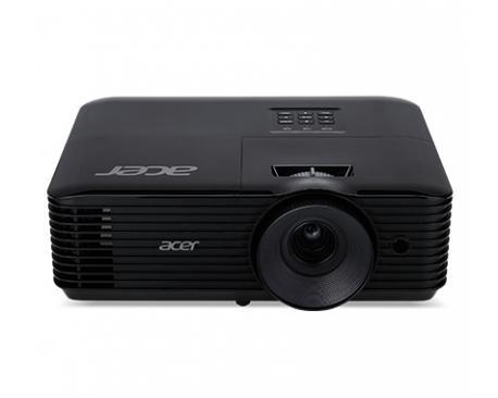 Acer Essential X118AH videoproyector 3600 lúmenes ANSI DLP SVGA (800x600) Ceiling-mounted projector Negro - Imagen 1