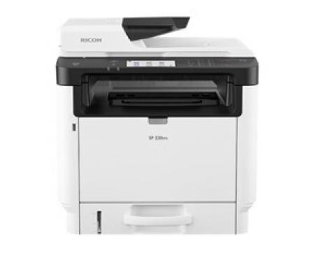 Multifuncion ricoh inyeccion monocromo sp 330sfn a4/ 32ppm/ 64mb/ usb/ red/ adf/ panel tactil - Imagen 1