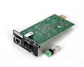 Vertiv Liebert IS-UNITY-DP adaptador y tarjeta de red Interno Ethernet 100 Mbit/s - Imagen 1
