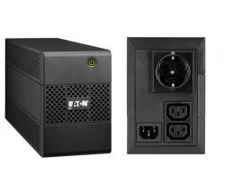 Eaton 5E 650I DIN sistema de alimentación ininterrumpida (UPS) 650 VA 3 salidas AC Línea interactiva - Imagen 1
